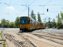 Egyirányúsítás a Török Flóris utcában a 52-es villamos pályafelújítása miatt