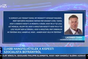 Lackner Csabát kirúgta az MSZP