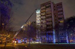 Tűz ütött ki egy társasházban Budapesten